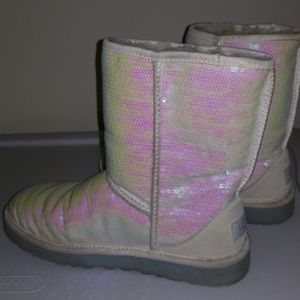 Bling! I do bride uggs size 8